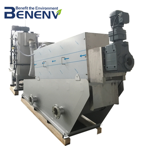 Low running cost sludge water treatment machine in food waste