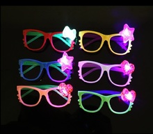 glow party supply LED party sunglasses for wedding decoration