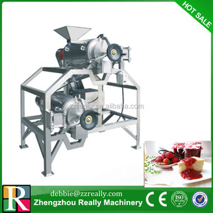 Stainless steel Grape/mango/peach/apricot Pulping machine /pulper Machine