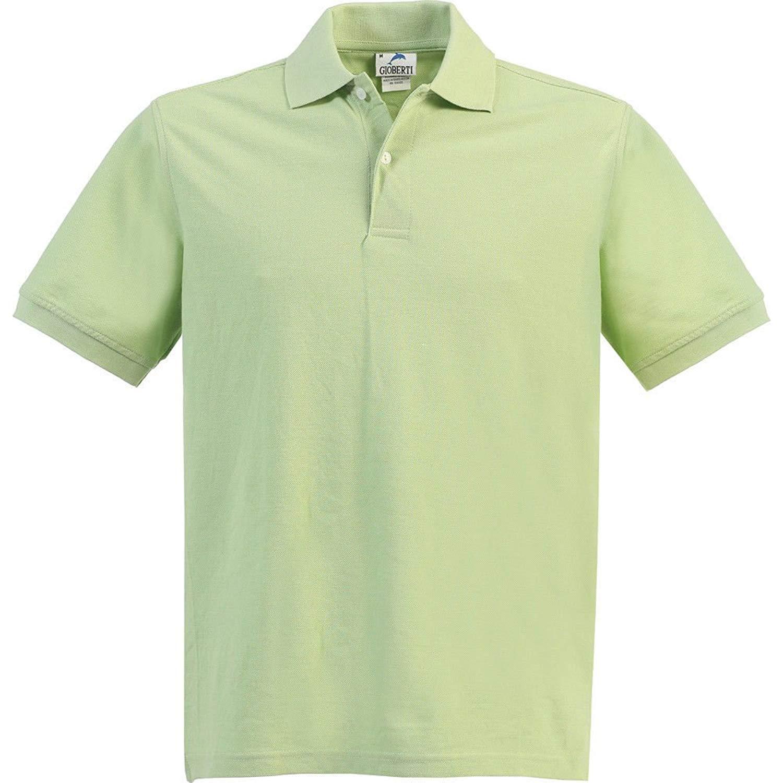 06ef9075 Get Quotations · Bone Big Boys Girls Paradise Green Short Sleeve School  Uniform Polo Shirt 8-16