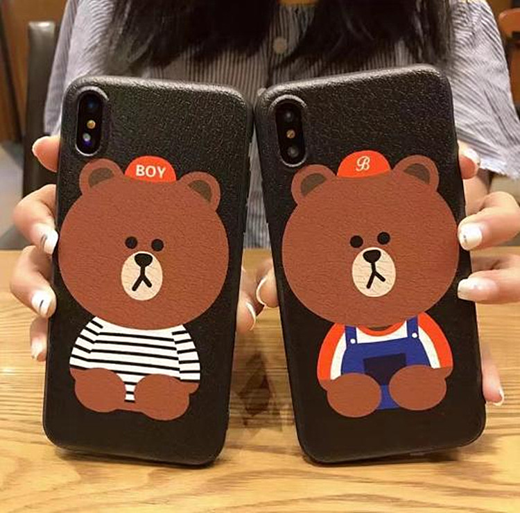 Christmas hot sale cute animal for iphone case,for iphone 7 case soft tpu lovely animal phone case
