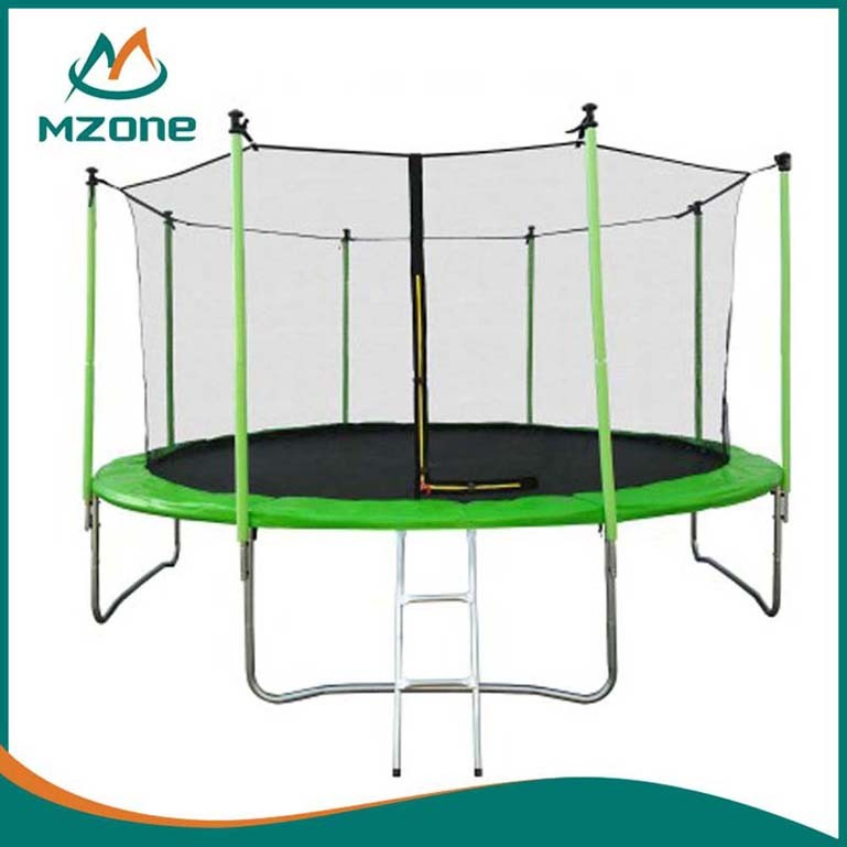 Mzone Outdoor professional trampoline with safety net