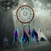 >>>Feather Dreamcatcher Christmas Decoration, Indian Dream Catcher