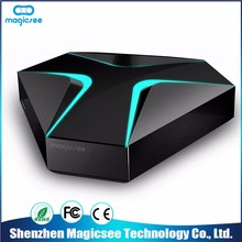 2017 New Arrival Professional Manufacturer real player 7 line wifi internet tv box