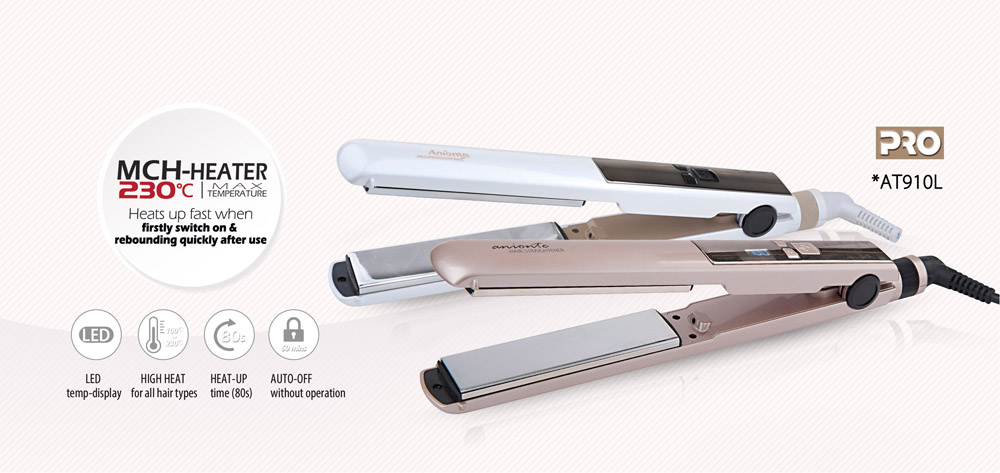 Personalized hair straightener/ hair flat iron