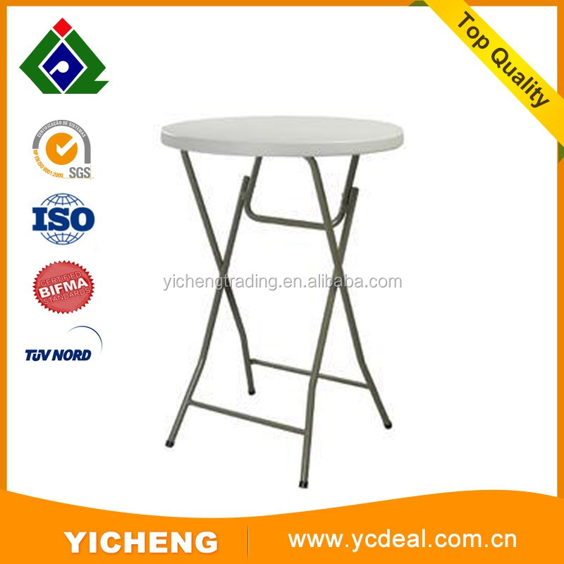 outdoor folding beer table round table