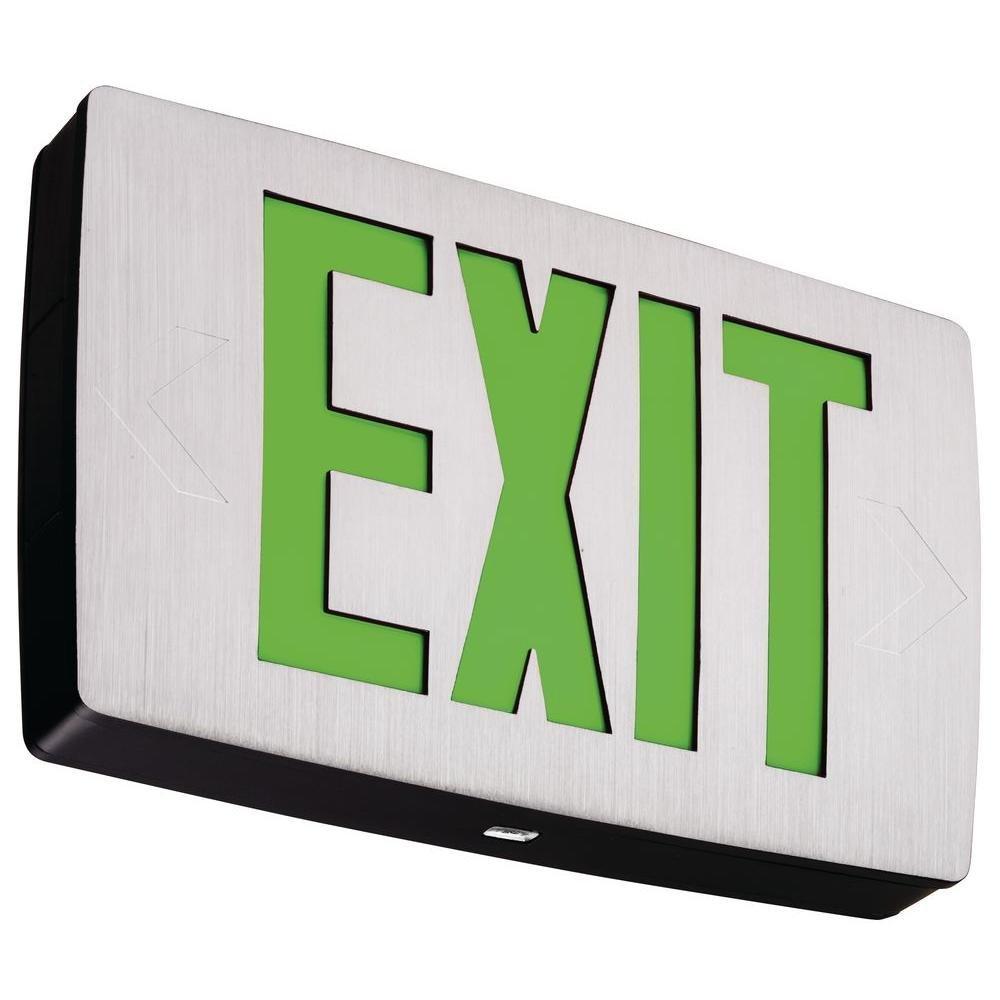 Lithonia Lighting LQC 2 G 3W LED Exit Sign, White
