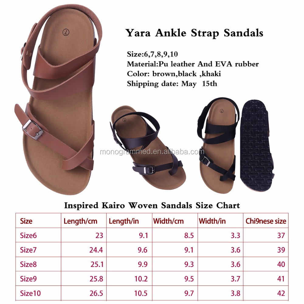 Personalized Women Ankle Strap Sandals