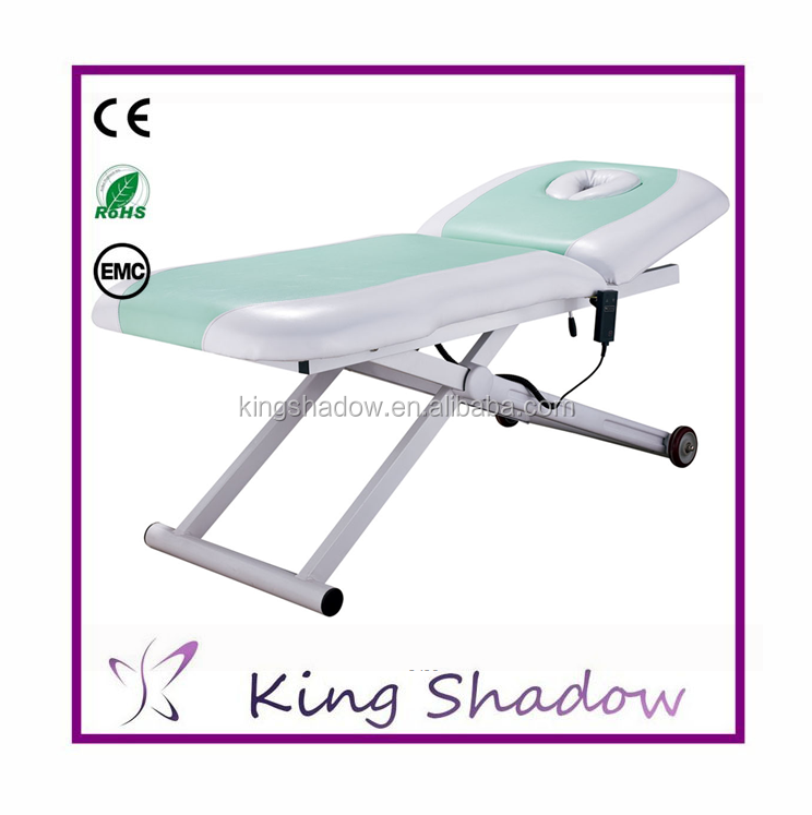 Mechanical Massage Table Short Massage Table Electric Adjustable Massage  Table