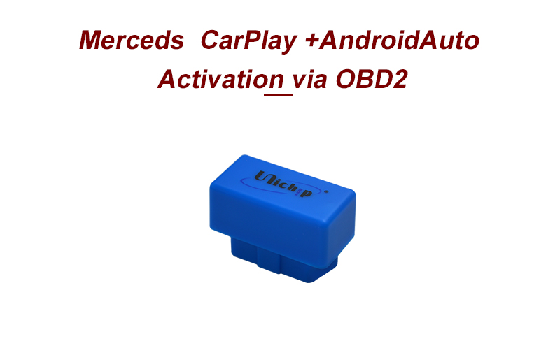 Unichip auto Android Apple carplay activador Mercedes GLA