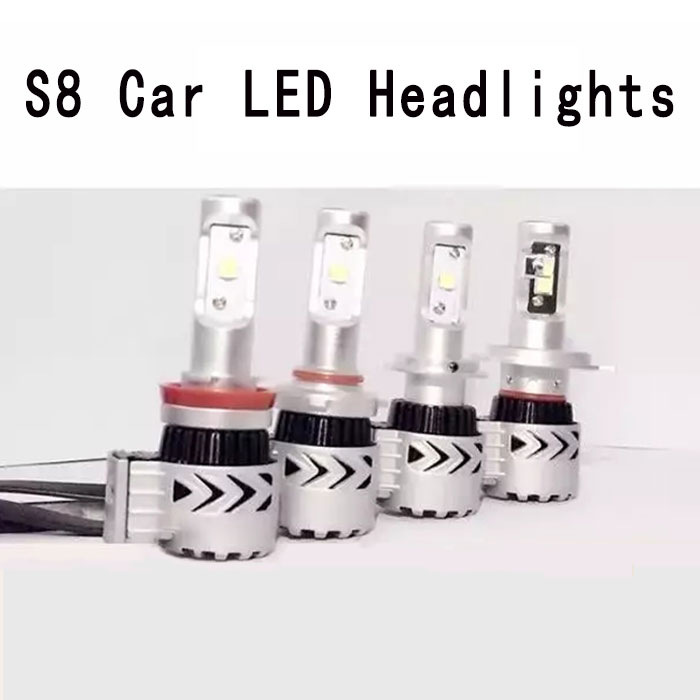 Wholease Car accessories Waterproof S8 H1/H7/H11/9012/9005 high power car led lighting for <strong>Auto</strong>