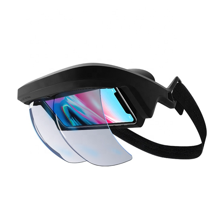 Amazon Top Seller 2018 Ar Glasses Mira Prism Magnifier Augmented Reality 3d  Glasses For Iphone & Android - Buy Mira Prism Ar,3d Glasses,Magnifier