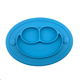 kitchen accessories new product ideas mini cross 2018 silicone plates portable baby placemat coaster table mat