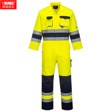 Hi vis overall reflecterende tape overall overall functie overall <span class=keywords><strong>jumpsuit</strong></span> een stuk overall uniform