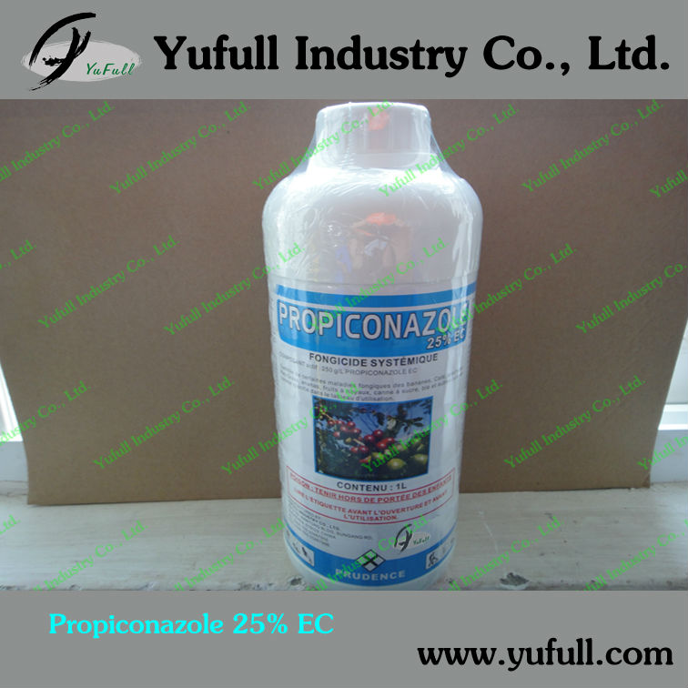 Mixturable with Difenoconazole Or Flusilazole fungicide Propiconazole 25% EC