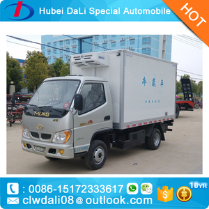 New 6 wheelers Refrigerator cargo truck with tail lift platform(500kg-2000kg),tail lift truck,power gate truck
