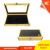 Elegant small jewelry necklace / earring/ ring packaging tool box, aluminum Jewelry display case