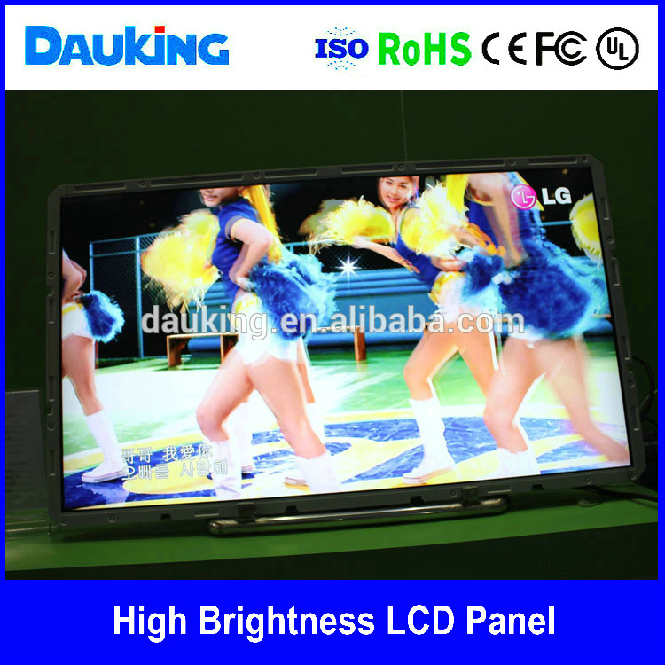 42 inch 2500nit Floor Standing 1920X1080 LCD screen LCD advertising panel LCD displayer industrial monitor ,laptop screen