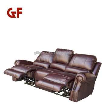 Normal Leather Sofa Set 3 2 1 Seat Commercial Theater Seats Recliner Stadium  Seat