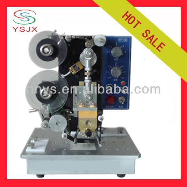 electric batch code pouch printing machine for bag