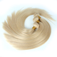 Double Drawn Thick 10A Virgin Human Russian Hair Color 613 Blonde Russian Hair Weaving