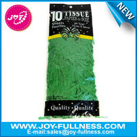 green color tissue paper gift wrap with 20