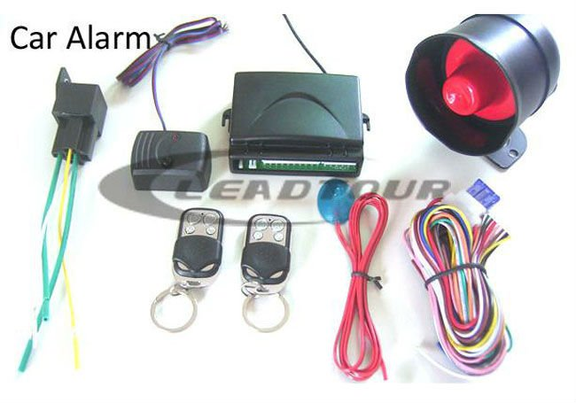 Auto Accessories One Way Car Alarm Security System With Siren f