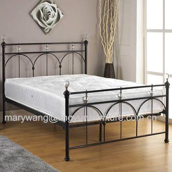 Vintage Eisen Bett Metall Bett Schmiedeeisen Bett Buy Weiss