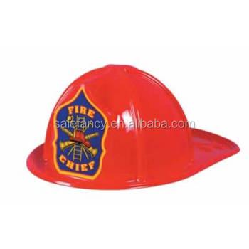 Mucho rojo visera de plástico para sombreros sombrero de bombero niños  plástico motocicleta ... ba82ad1e1c9