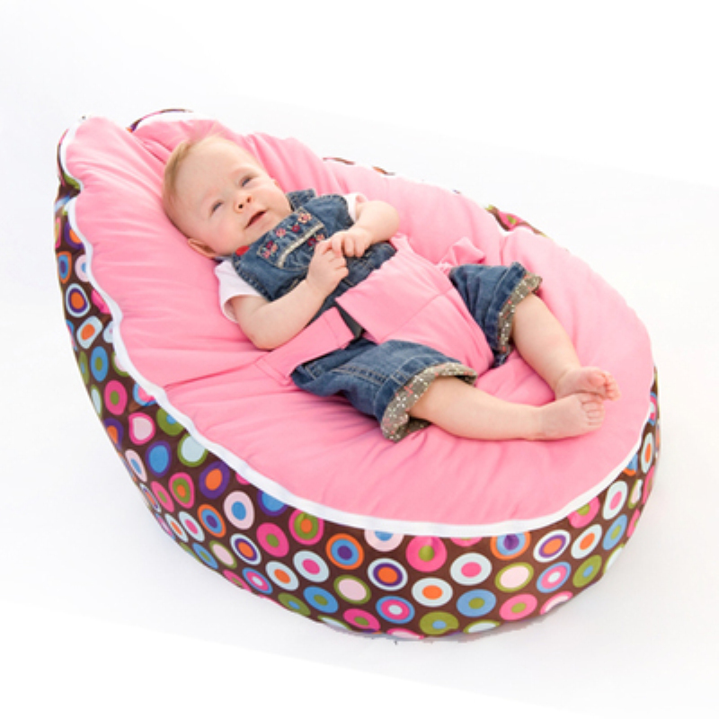 Multicolors Baby Bean Bag Kids Bed For Sleeping Portable