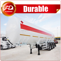 Agriculture water fuel oil tank semi trailer on sale