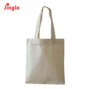 2018 hot sell Plain Natural cotton canvas burlap large tote bag wholesale
