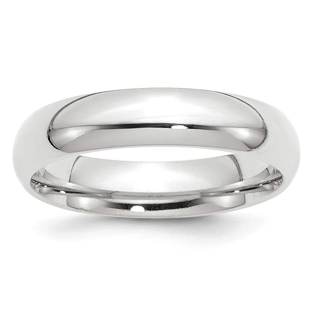 Perfect Jewelry Gift 10KW 5mm Standard Comfort Fit Band Size 12.5