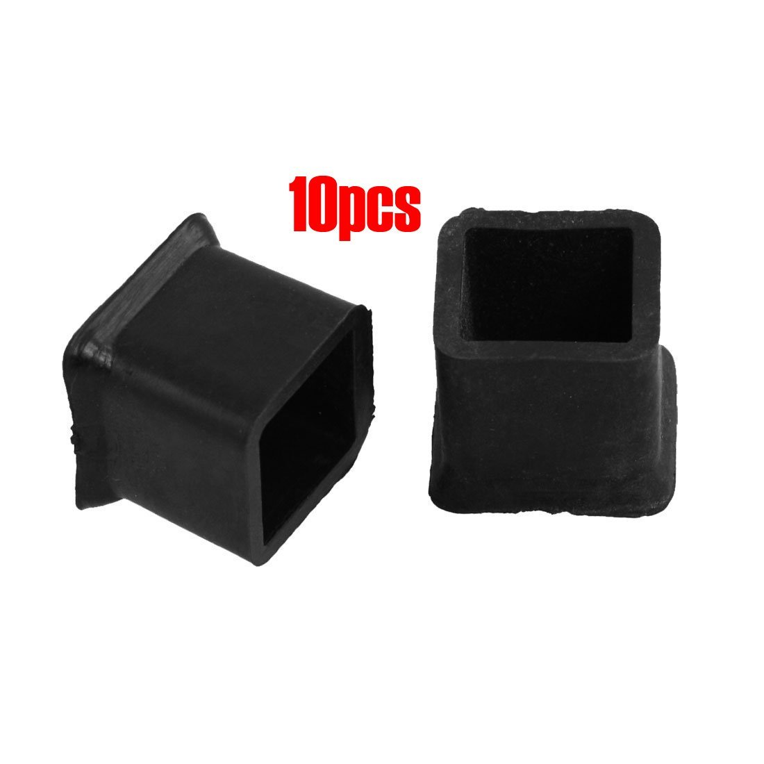 TOOGOO(R) 10 Pcs Furniture Chair Table Leg Rubber Foot Covers Protectors 20mm x 20mm