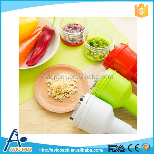 Plastic mini meat chopper