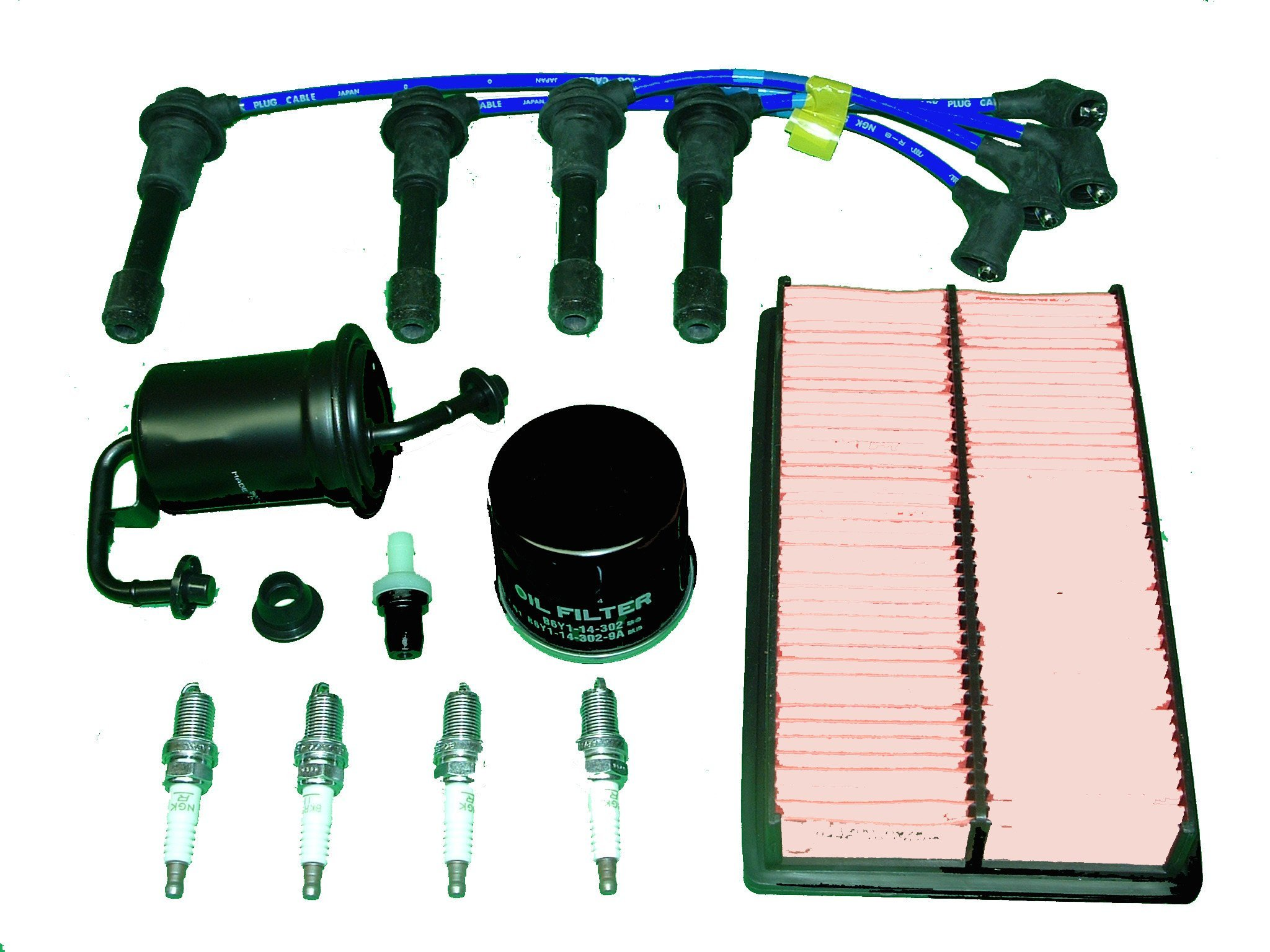 Get Quotations · TBK Tune Up Kit Mazda Miata MX5 1990 to 1993 Includes Oil  Filter Air Filter Fuel