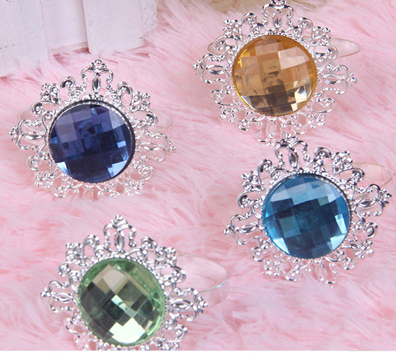 Multifunctional Fashion Colored Apparel Rhinestone Button Covers