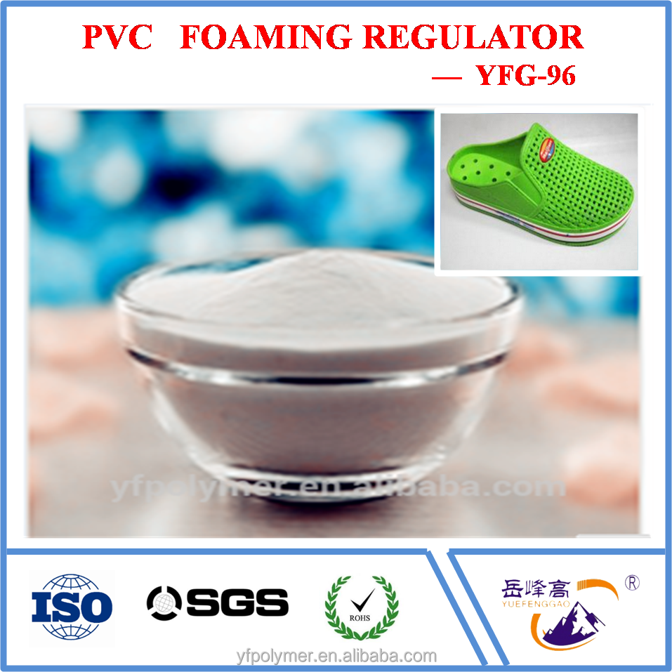 Chemicals for making air blow PVC shoes