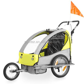 Foldable Baby Bike Trailer With Alu Frame(bt005) - Buy Foldable Baby ...