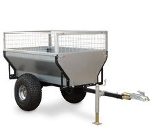 Quad bike Galvanization heavy duty outdor dump utility trailers