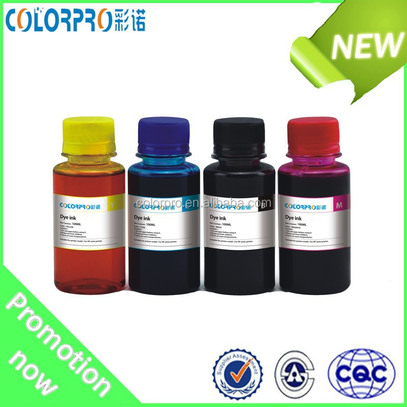 Top selling Water based dye ink specialized for hp 950xl 951xl used for hp officejet pro 8100 8610 8600 for inks