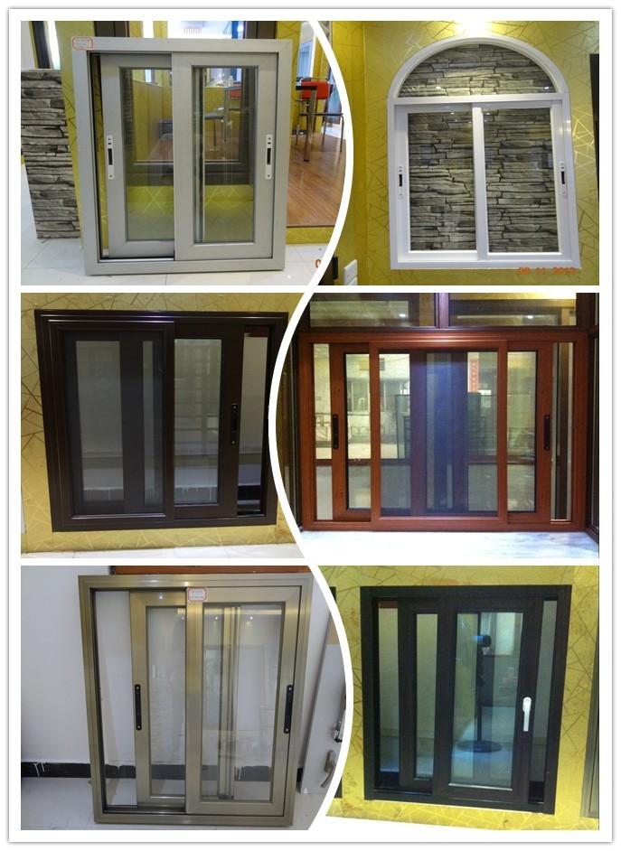 Aluminium Windows Product : Aluminum windows manufacture aluminium brown color sliding