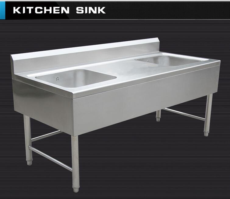 Regolabile Piedini Separati Assemblato Commerciale In Acciaio Inox Da  Cucina Mobile Lavello Con La Piattaforma Backsplash - Buy Commerciale In  Acciaio ...