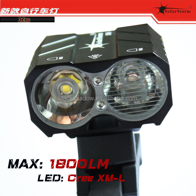 Solarstorm X5 2015 newest LED bicycle light mtb front bicycle led light