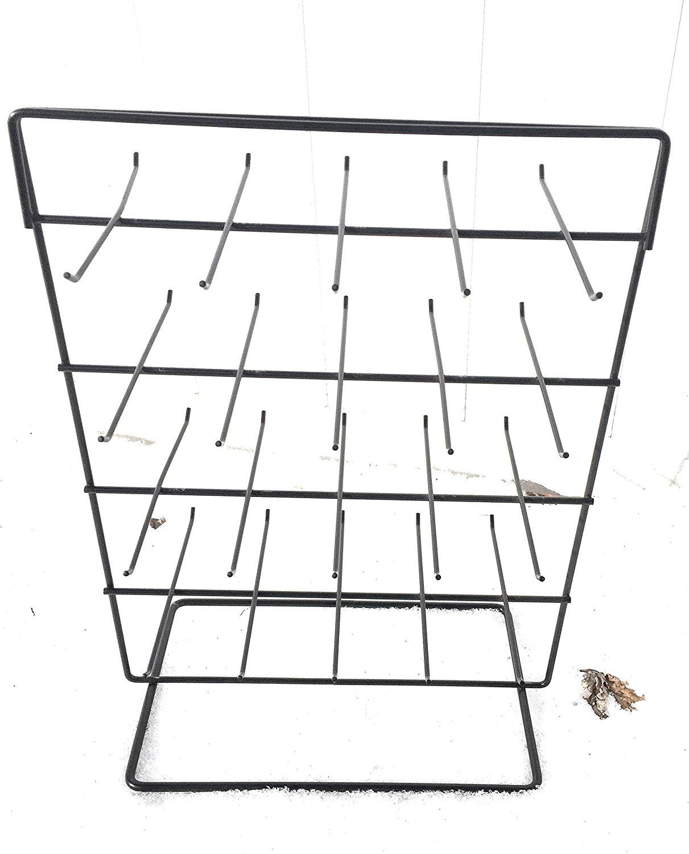 40 Hook Black Jewlery Rack Organizer 2 Sided, Jewlery Display, Key Rack