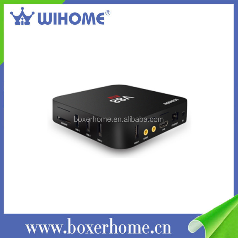 Free oem 4k quad core africa smart v88 cheapest android tv box
