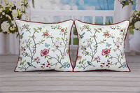 Factory Manufacture Various Hand Embroidery Cushion Cover