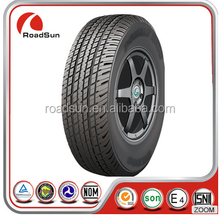 Roadsun new car tires 195/65R15, 205/55R16,SUV PCR tire for sale