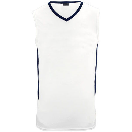 fc199cebba3f Plain white basketball jersey