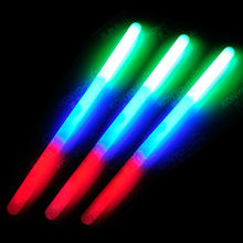 tri-color big size glow stick